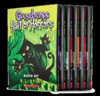 Goosebumps Hall of Horrors Boxed Set 6