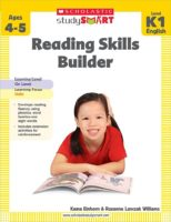 Scholastic Study Smart: Reading Skills Builder Level K-1