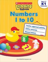 Scholastic Learning Express K1: Numbers 1 to 10