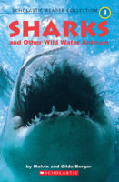 Scholastic Reader Collection Level 3: Sharks and Other Wild Water Animals