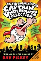 The Tra-la-laa-mendous Captain Underpants Collection (Books #5-8 with inflatable)
