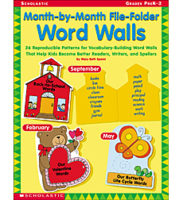 Month-by-Month File-Folder Word Walls