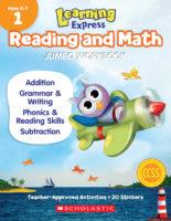 Learning Express Jumbo Reading and Math Workbooks: Grade 1