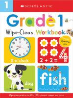 Wipe Clean Workbooks- Grade 1