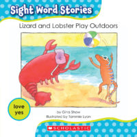 Lizard and Lobster Play Outdoors