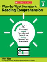 Week-by-Week Homework: Reading Comprehension Grade 3