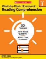Week-by-Week Homework: Reading Comprehension Grade 1