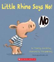 Little Rhino Says No!